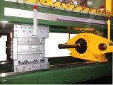 Perfil de aluminio automático completo que hace la máquina