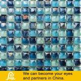 Het blauwe Mozaïek van het Glas van de Vorm van het Brood van de Mengeling Kleurrijke voor Decoratie