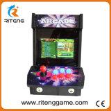 아케이드 동전은 아이를 위한 소형 게임 기계를 운영한다
