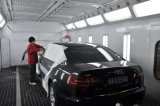 Cabine de peinture de véhicule avec la cabine de jet de lampe infrarouge Yokistar