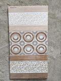 La stanza da bagno del Pakistan progetta le mattonelle di ceramica della parete lustrate getto di inchiostro 3D