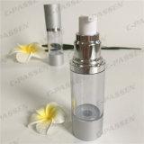 30ml löschen das Kunststoffgehäuse als Siliver luftlose Lotion-Flasche (PPC-ASAB-049)