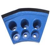 Резцы диска ролика/режущие инструменты экрана и зубы вырезывания с большой сопротивляемостью ударам для Tbm