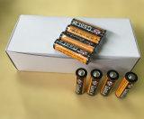 Bateria de célula seca Super Heavy Duty AA (imagem real)