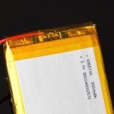 Batterij met hoge capaciteit 8055100 van het Polymeer 3.7V Kern van het Lithium van de Macht van 5000mAh de Universele Mobiele Ingebouwde