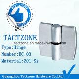 Edelstahl-Scharnier der China-Hersteller-Toiletten-Zelle-Partition-304