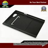 L'alluminio nero lucido di CNC di rivestimento parte i pezzi meccanici di CNC di abitudine di caso di iPhone