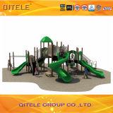Fiberglas-Spielplatz-Gerät für Kind-heraus Tür des Alters-2-12
