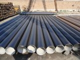 セメント乳鉢と並ぶAnti-Corrosion鋼管
