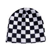 Шлем способа красный и белый проверенный Beanie (JRK051)