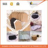 Modifica su ordinazione di caduta di formato della scheda del Brown della corda della canapa per il regalo/i vestiti/i bagagli