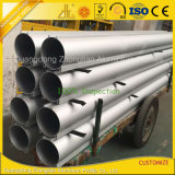 Grand tube T6 rond en aluminium anodisé de l'extrusion enduit par poudre 6061