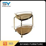 Chariot chaud à acier inoxydable de meubles de vente