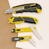 Outils de coupe Utiltiy Knife Metal Auto Reload 8 Blades OEM