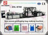 Maquillaje reutilizable de la tela no tejida automática completa que hace la maquinaria (ZXL-B700)