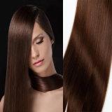 7A rollt seidige Stragiht Menschenhaar-Jungfrau-Haar-Webart Brown-Farbe zusammen