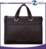 2017 Novo design do Escritório de Negócios personalizados homens maleta de couro genuíno Laptop Executivo sacos de mão para homens