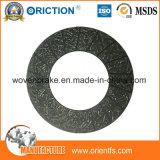 Material de la guarnición de embrague de placa de la fricción de la buena calidad