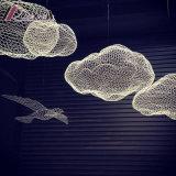 개성 펀던트 램프의 새로운 주문을 받아서 만들어진 어망 원형 구름