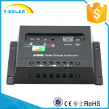 regulador de la energía solar de 20AMP 12V/24V con el indicador 20I del LED