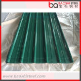Горячий окунутый гальванизированный Prepainted Corrugated лист толя