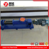 120 Stab-Klärschlamm-Schrauben-Pumpe für Filterpresse