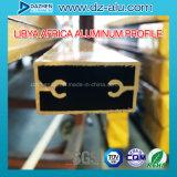 Perfil da porta do indicador de alumínio de Liberia Líbia com cor/tamanho personalizados