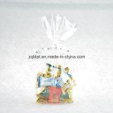 투명한 플라스틱 편평한 바닥 BOPP 선물 포장 부대 첼로 부대