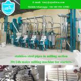 Sambia-laufender Mais-Prägemaschinerie, Mais-Mehl-Fräsmaschine