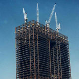 작업장 창고는 강철 구조물 건물을 흘렸다