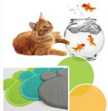 비 중독 100%년 PVC 고양이 배설용상자 매트 애완 동물 감금소 Toliet 매트