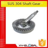 Pignon à queue de haute précision pour l'acier du carbone du SUS 304 d'automobile