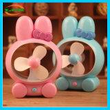 Comercio al por mayor lindo Conejo silencio Universal ventilador USB de carga