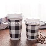 Caliente la venta de papel de doble pared tazas de café caliente para la venta