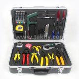Instalación óptica de fibra de la alta calidad y kit de herramienta del mantenimiento