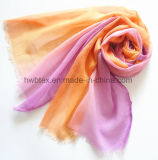 DIP Bright Dyeing imprimé en polyester fin Lady Scarf (HWBPS090)