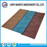 Mattonelle di tetto rivestite di pietra del metallo di Wante con vento e resistenza della corrosione