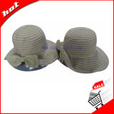 Farbbandsun-Hut mit Bowknot