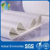 Acqua e filtro perforato ago oliorepellente dal poliestere ritenuti per il sacchetto filtro della polvere