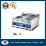 4-Plate fornello elettrico (serie) del piano d'appoggio (HRQ-64)