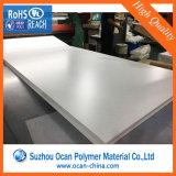 トランプのためのオフセット印刷の光沢のある白PVC堅いプラスチックシート