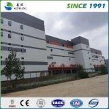 Estructura de acero prefabricados Almacén con paredes de paneles sándwich EPS