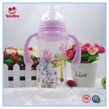 300ml BPA Free PP Baby Bottles com alça