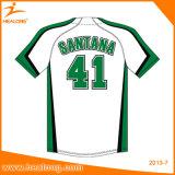 Sportswear feito sob encomenda de Healong algum basebol Jersey da juventude da cor e do logotipo