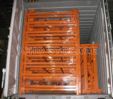 طوي وتكويم الثقيلة شبكة أسلاك القفص لمستودع التخزين