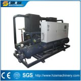 Refrigerador de água refrigerando do compressor do parafuso