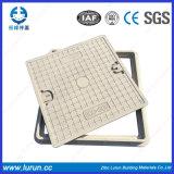 600X600 C/O 450X450mm 도난방지 섬유유리 배수장치 맨홀 뚜껑