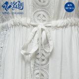 أبيض [سليفلسّ] طويلة سيّدة ثوب