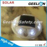 360 espárrago solar del camino del ojo de gato del grado que contellea 8PCS LED para la venta