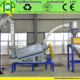 Topmachineryの重い粉砕機が付いているリサイクルペットHDPE PVCパソコンのびんを押しつぶすための普及したコーラのびん洗浄ライン